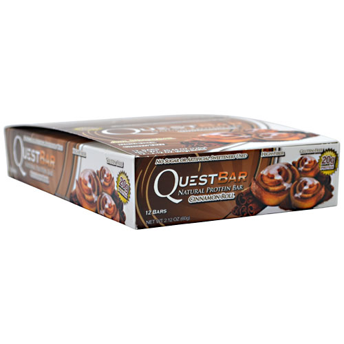 Quest Bars, Natural Cinnamon Roll 12/Box by Quest Nutrition
