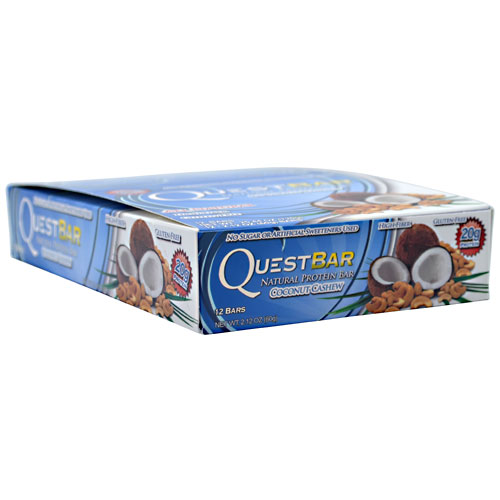 Quest Bars, Natural Coconut Cashew 12/Box by Quest Nutrition
