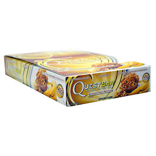 Quest Bars, Natural Banana Nut Muffin 12/Box by Quest Nutrition