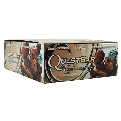 Quest Bars, Double Chocolate Chunk 12/Box by Quest Nutrition