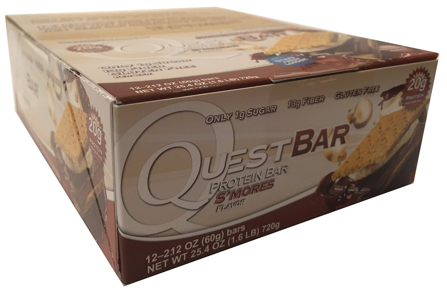 Quest Bars, Smores 12/Box by Quest Nutrition