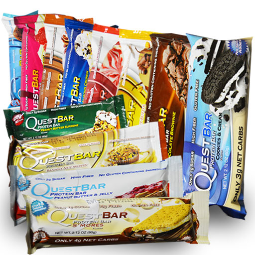 Quest Bars, Variety Pack, 12 Flavors Per Box by Quest Nutrition