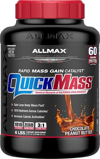 Quickmass By Allmax Nutrition, Chocolate Peanut Butter, 6lb