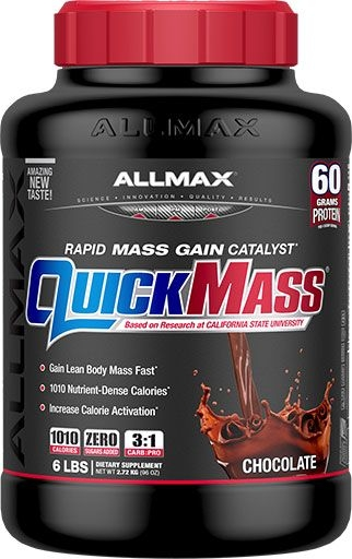 AllMax Nutrition QuickMass Loaded Chocolate 6lb