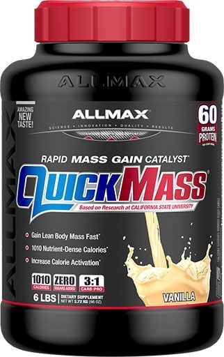 AllMax Nutrition QuickMass Loaded Vanilla 6lb