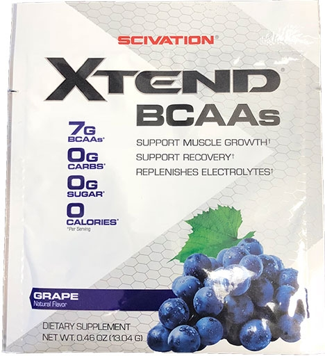 Xtend BCAA By Scivation, Grape, Sample Packet
