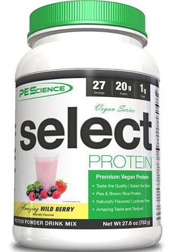 Select Vegan Protein - Wild Berry