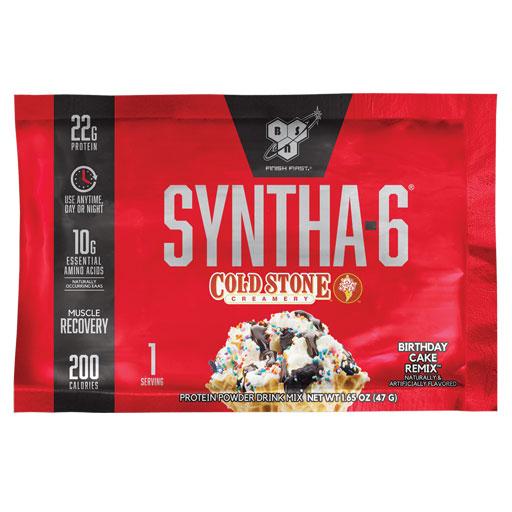 Syntha 6 - Coldstone Birthday Cake - Sample