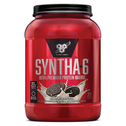 Syntha-6 Protein - Cookies & Cream - 28 Servings