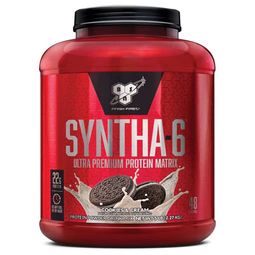 Syntha-6 Protein - Cookies & Cream - 48 Servings