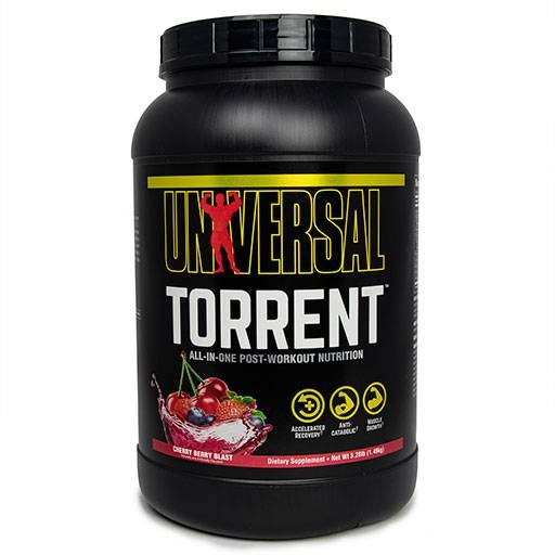 Torrent By Universal Nutrition, Post Workout Cherry Berry Blast 3.28lb