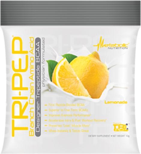 TriPep By Metabolic Nutrition, Lemonade, Sample Packet