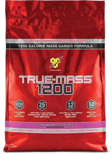 True Mass 1200 By BSN, Strawberry Milkshake 10.25lb