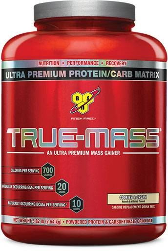 True Mass By BSN, Cookies and Cream 5.75lb