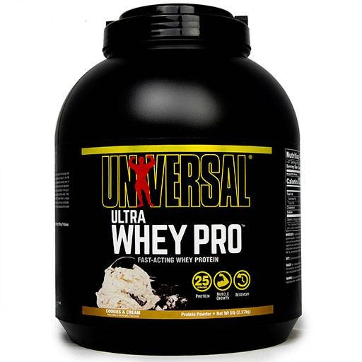 Ultra Whey Pro By Universal Nutrition, Cookie & Cream 5 lb