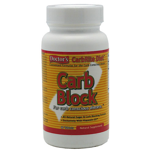 Doctor's CarbRite Carb Block by Universal Nutrition, 60 Tabs