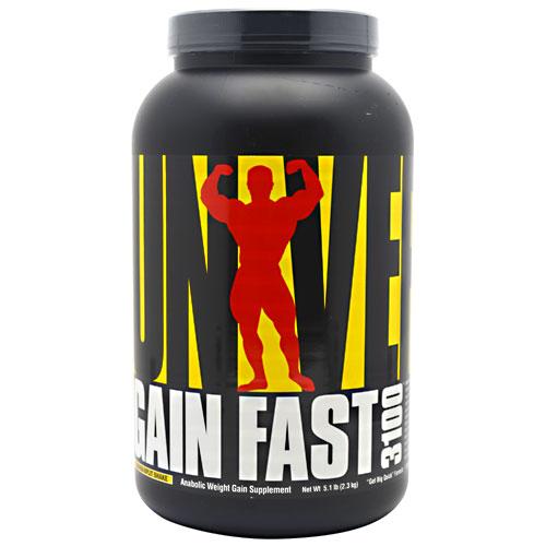 Gain Fast 3100 By Universal Nutrition, Banana 5.1lb