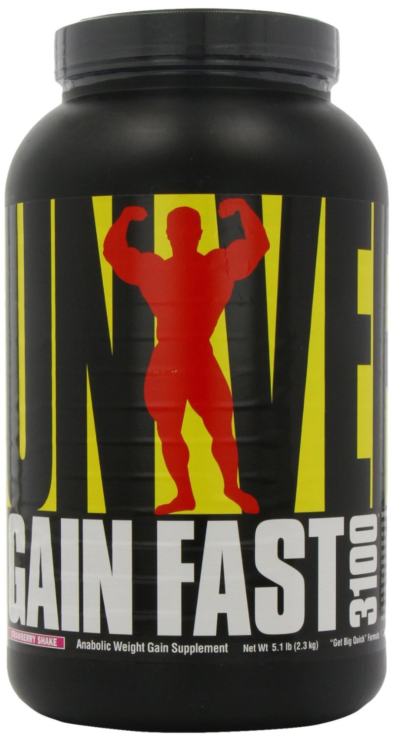 Gain Fast 3100 By Universal Nutrition, Strawberry 5.1lb