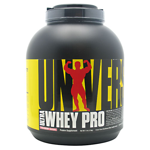 Ultra Whey Pro By Universal Nutrition, Strawberry Banana 5 lb