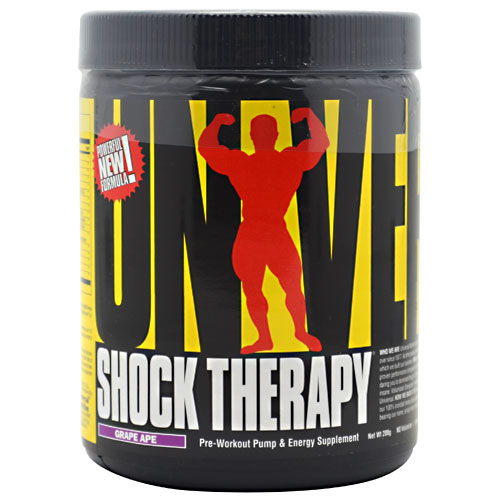 Shock Therapy Pre-Workout By Universal Nutrition, Grape Ape 200 Grams