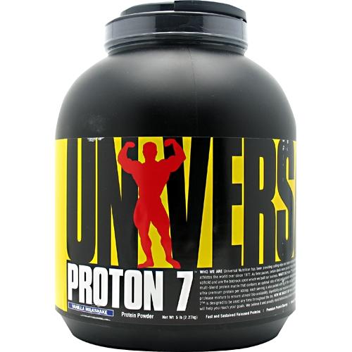Proton 7 By Universal Nutrition, Protein Vanilla Milkshake 5lb
