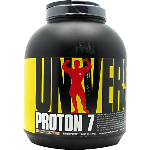 Proton 7 By Universal Nutrition, Protein Cookies and Cream 5lb