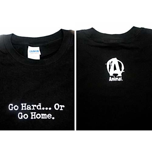 Universal Nutrition Go Hard Or Go Home Black T-Shirt XXX-Large