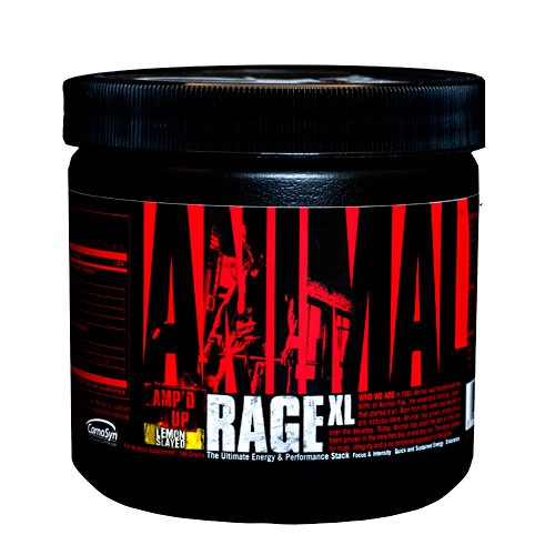 Animal Rage XL by Universal Nutrition, Lemon Slayed 146 Grams
