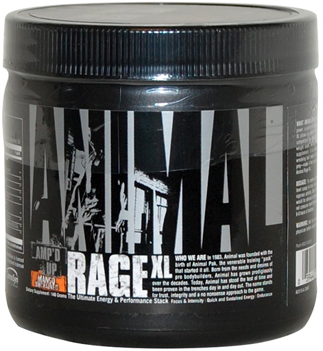 Animal Rage XL by Universal Nutrition, Mango Unchained 145 Grams