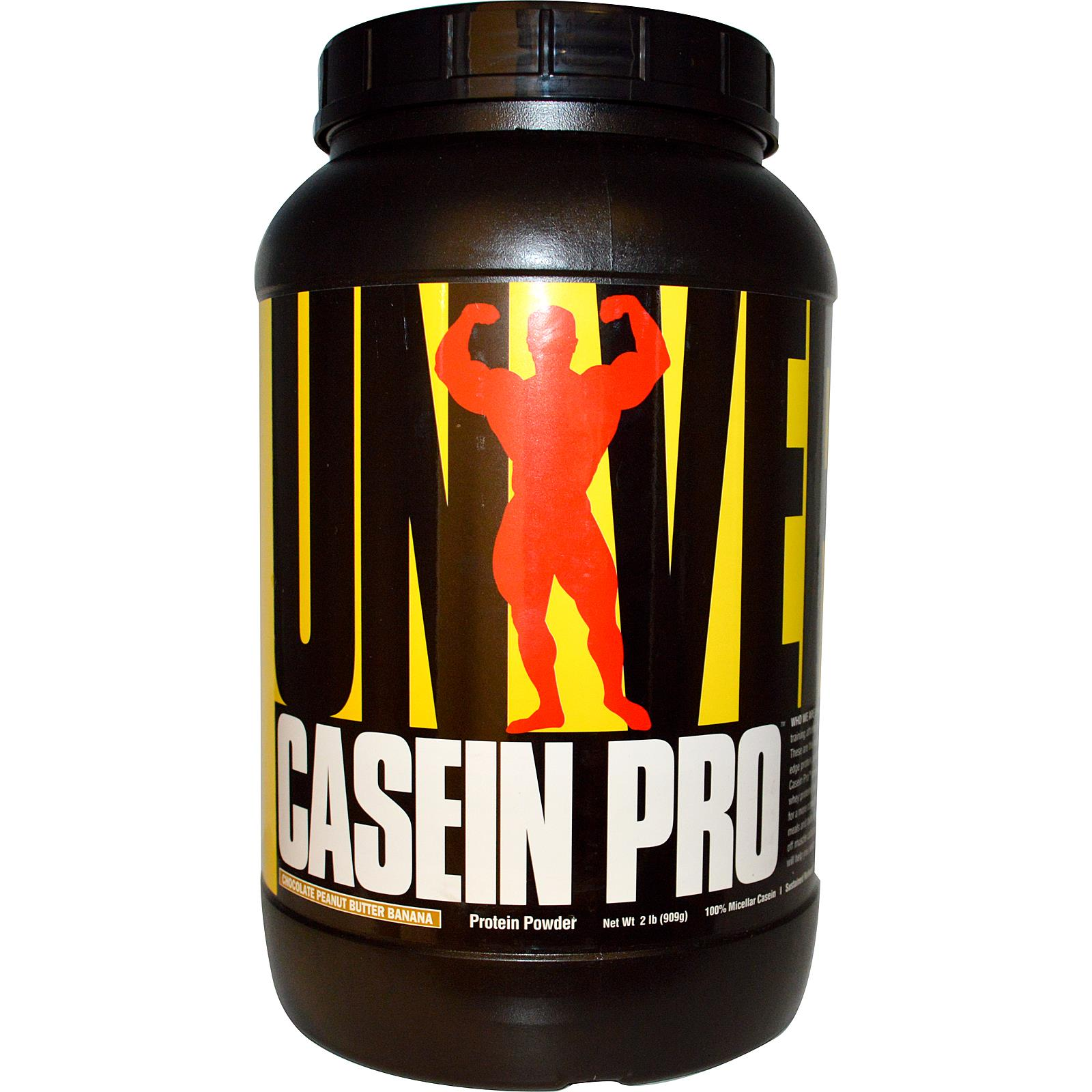 Casein Pro by Universal Nutrition, Chocolate Peanut Butter Banana 2lb