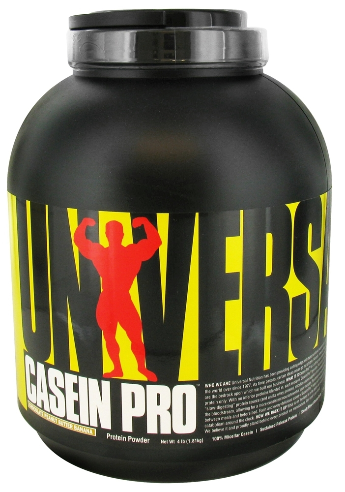 Casein Pro By Universal Nutrition, Chocolate Peanut Butter Banana 4lb