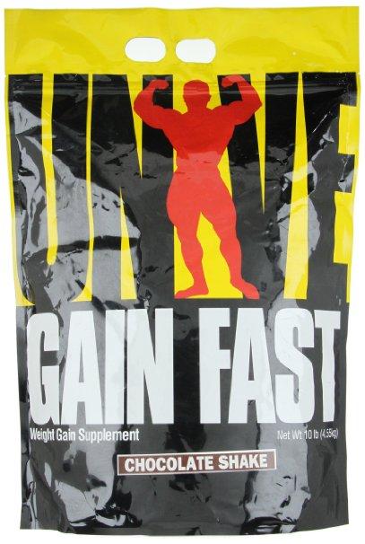 Gain Fast 3100 By Universal Nutrition, Chocolate Shake 10lb