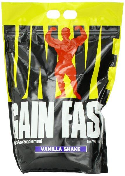 Gain Fast 3100 By Universal Nutrition, Vanilla Shake 10lb