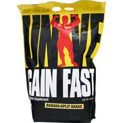 Gain Fast 3100 By Universal Nutrition, Banana Shake 10lb