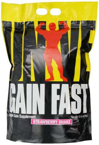 Gain Fast 3100 By Universal Nutrition, Strawberry 10lb
