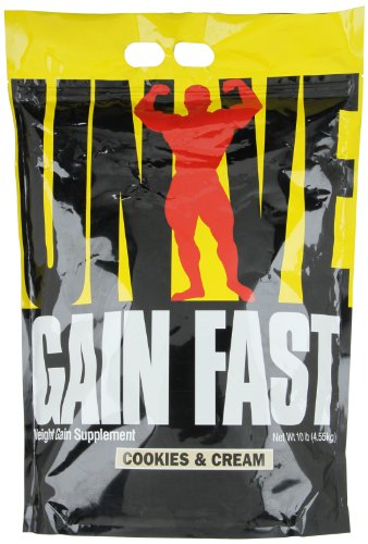 Gain Fast 3100 By Universal Nutrition, Cookies and Cream 10lb