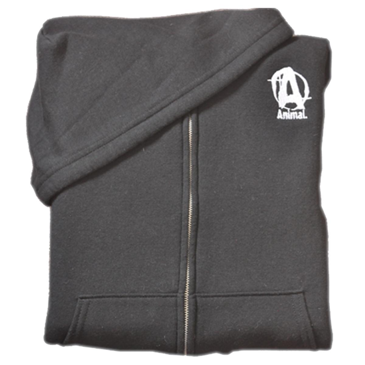 Universal Nutrition, Animal Hooded Zipper Sweatshirt, Large
