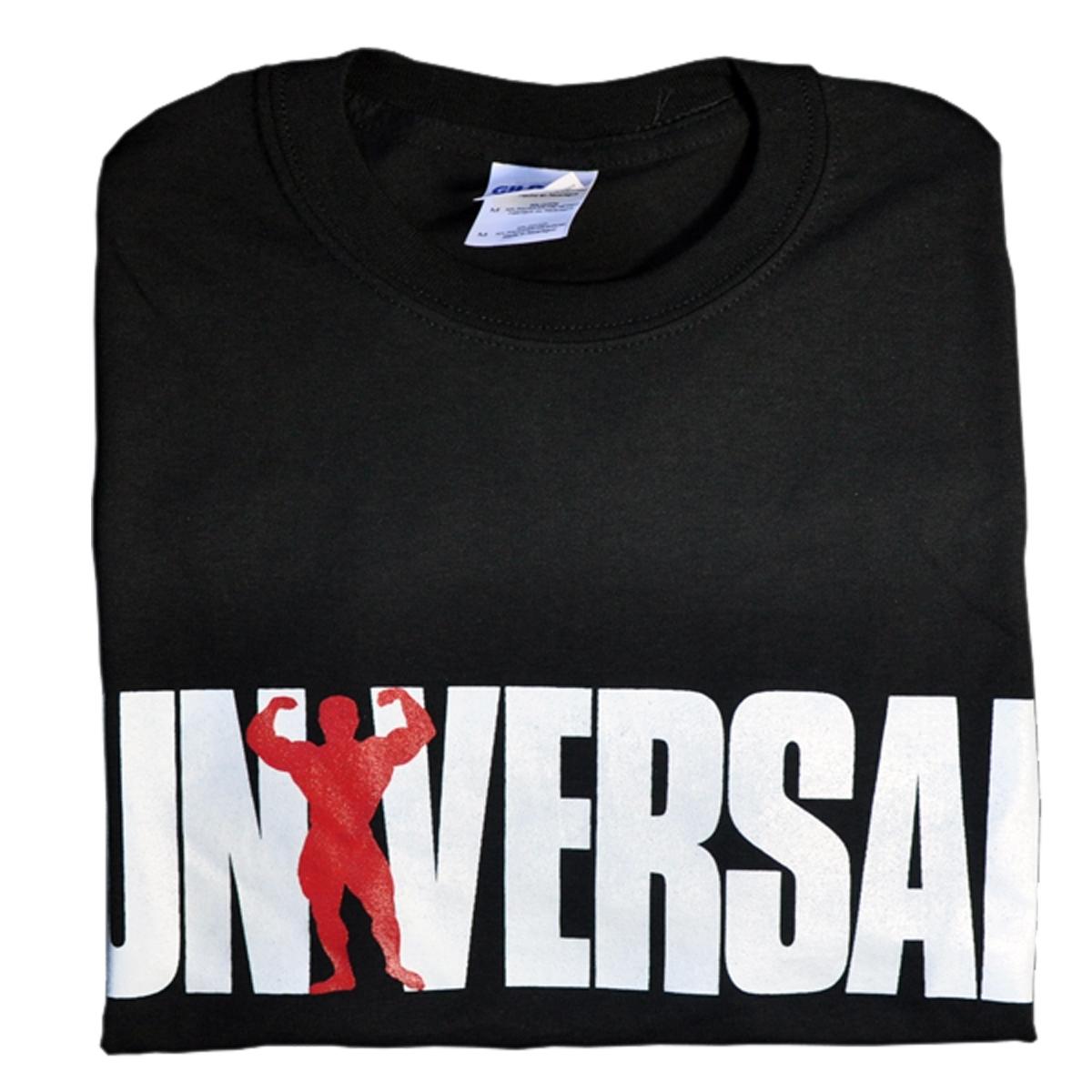 Universal Nutrition Black Logo T-Shirt Large
