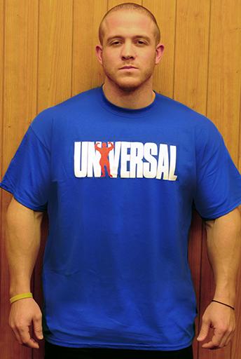 Universal Nutrition Blue Logo T-Shirt Small