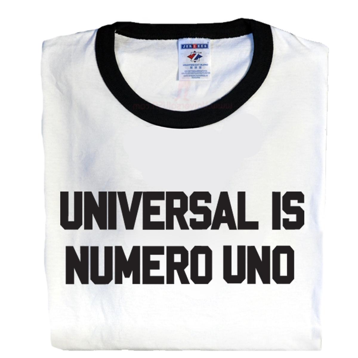 Universal Nutrition, Universal is Numero Uno Ringer T-Shirt, Medium