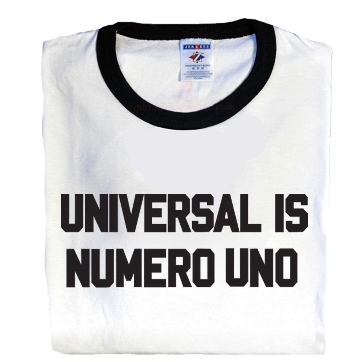 Universal Nutrition, Universal is Numero Uno Ringer T-Shirt, X-Large