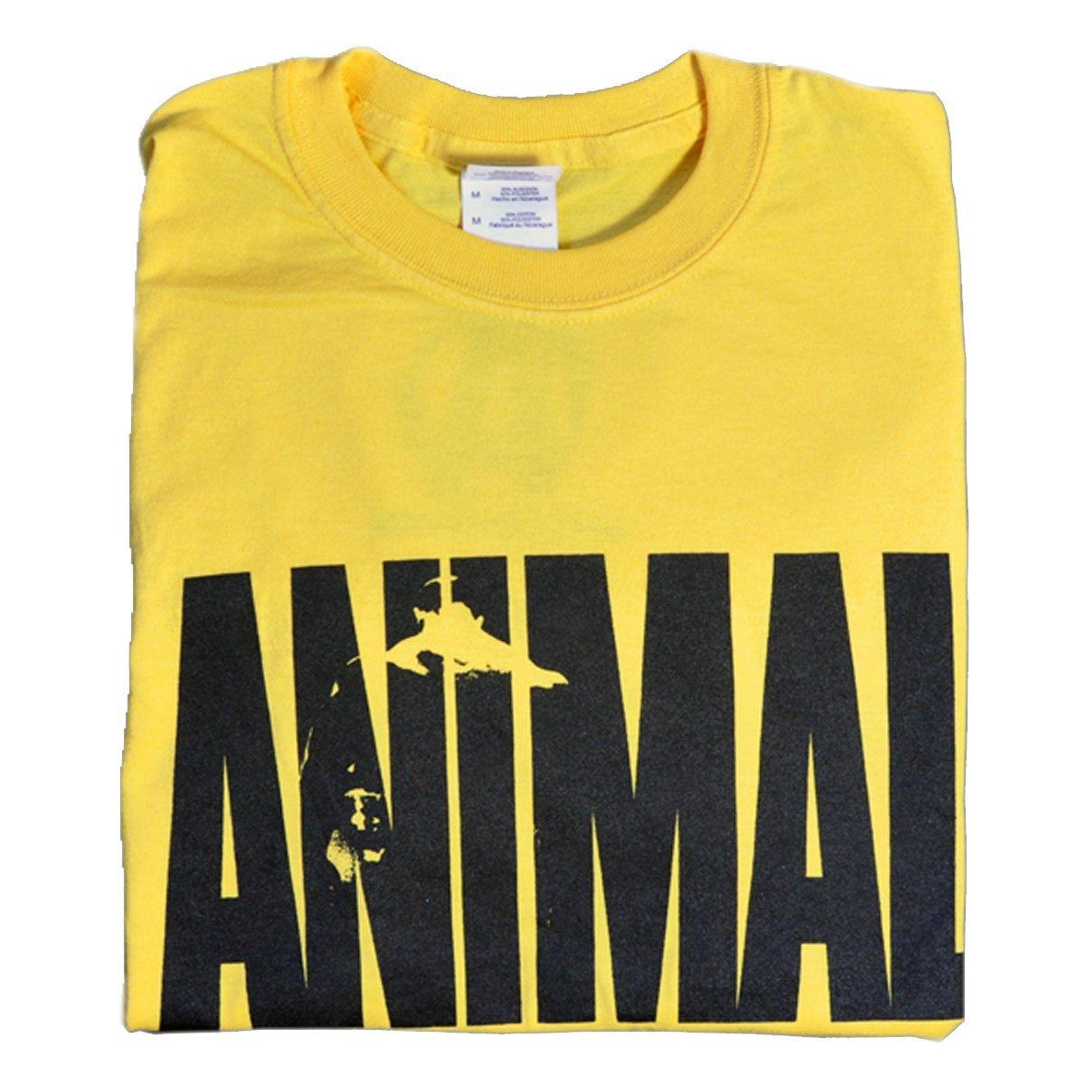 Universal Nutrition Yellow Animal Iconic T-Shirt Large