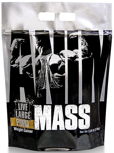 Animal Mass Gainer, By Universal Nutrition, Cookies and Cream, 5.09lb
