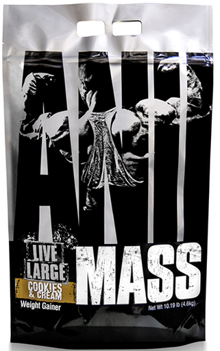 Animal Mass Gainer, By Universal Nutrition, Cookies and Cream, 10.19lb