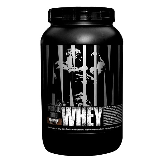 Animal Whey Protein, By Universal Nutrition, Brownie Batter, 2lb