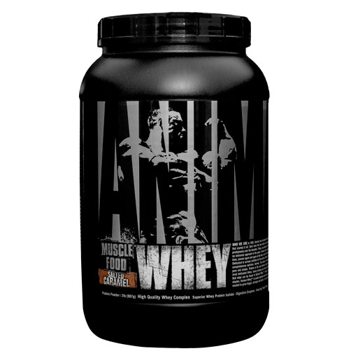 Animal Whey Protein, By Universal Nutrition, Salted Caramel, 2lb