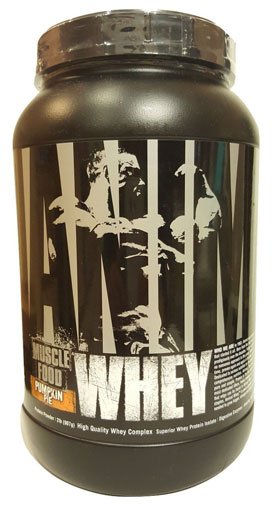 Animal Whey Protein, By Universal Nutrition, Pumpkin Pie, 2lb