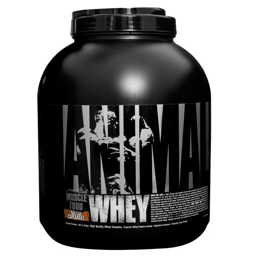 Animal Whey Protein, By Universal Nutrition, Salted Caramel, 4lb