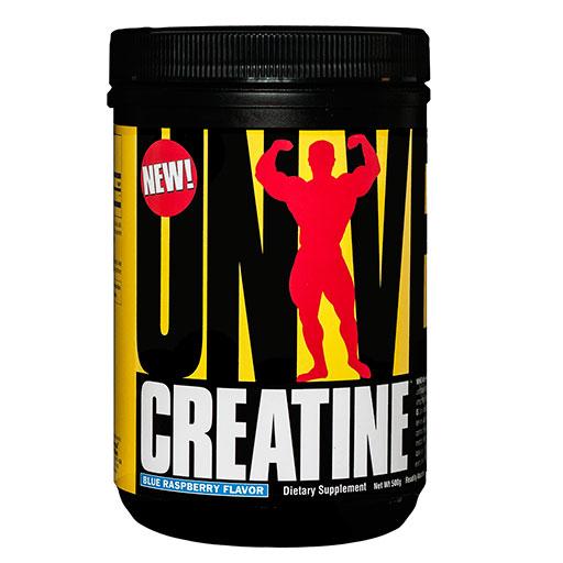 Creatine Monohydrate Powder By Universal Nutrition, Blue Raspberry, 500 Grams
