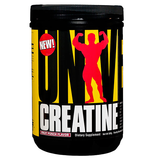 Creatine Monohydrate Powder By Universal Nutrition, Fruit Punch, 500 Grams